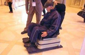 В Японии изобрели летающее инвалидное кресло