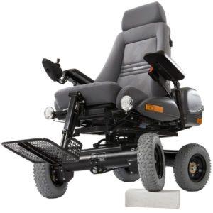 Инвалидные кресла-коляски с электрическим приводом, производства компании «Chasswheel», усиливают свои позиции на европейском рынке