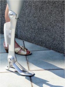 Конструктор протезов конечности может дать инвалидам уникальное выражение стиля
