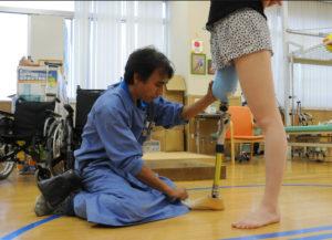 Японские Паралимпийцы — о тонкостях бега на протезах