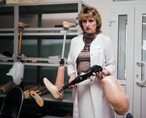 Современный протез может подстраиваться под настоящую ногу