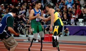 Оскар Писториус проиграл финал бега на 200 метров