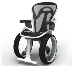 Концептуальное инвалидное кресло