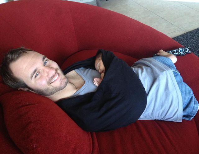 Ник Вуйчич, лишённый рук и ног, недавно стал отцом