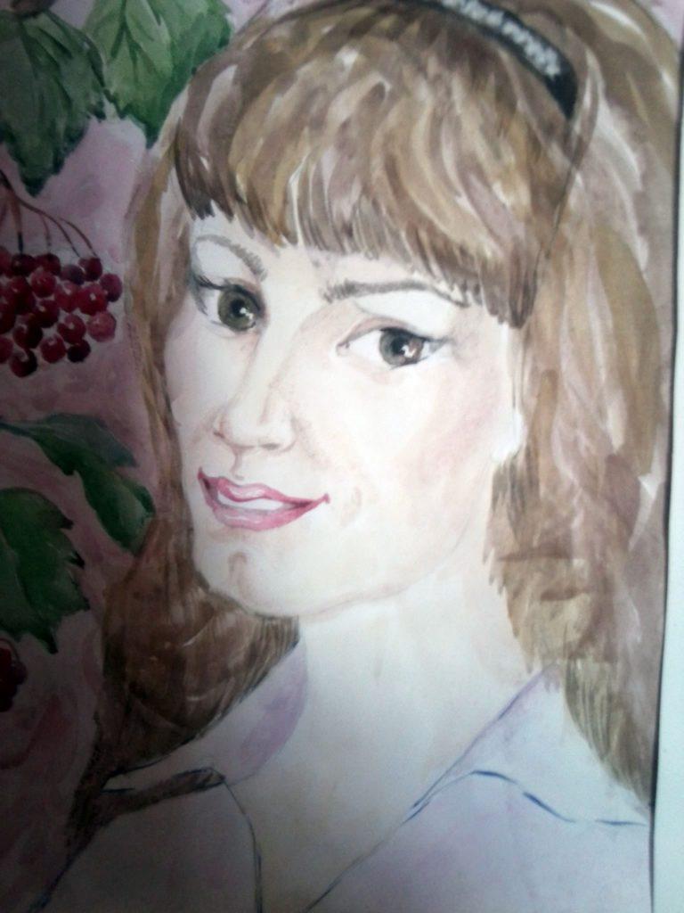 Девушка, родившаяся без рук, рисует и вышивает ногами