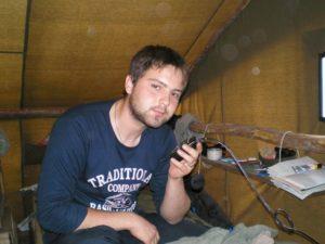 Работал Антон в далекой Якутии в геологической компании