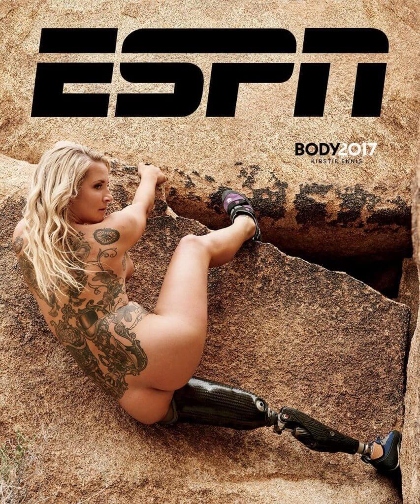 Девушка с ампутированной ногой, покорившая Килиманджаро, снялась в откровенной фотосессии