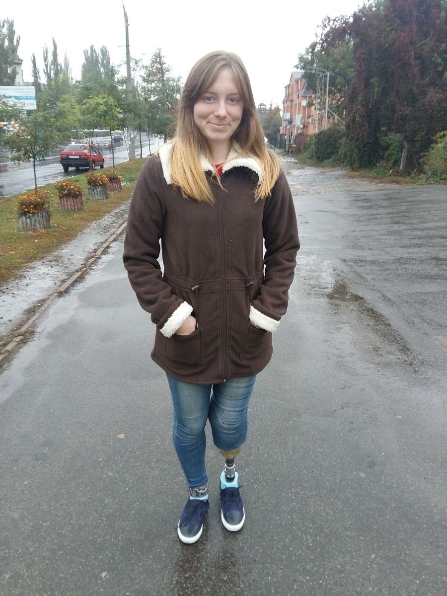 Потерявшая ногу на войне Ольга Бенда