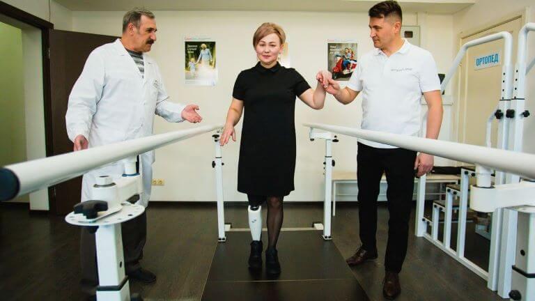 «Steplife»-бионический коленный модуль российского производства